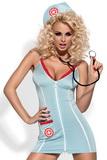 Dámsky kostým Obsessive Doctor + stetoskop
