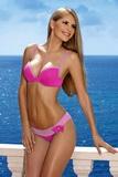Dámske plavky Lorin Mira 5263 ružovo-biele