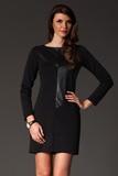 Dámske šaty Figl M148 čierne