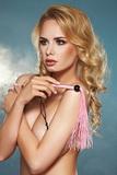 Erotický bič 7-Heaven A0221 ružový
