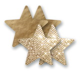 Ozdoby na bradavky - telové hviezdičky